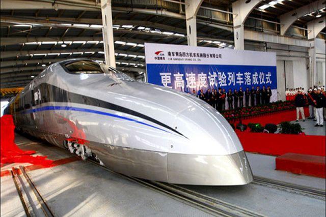 Chinezii au inceput analizele tehnice necesare pentru trenul de mare viteza spre Constanta!