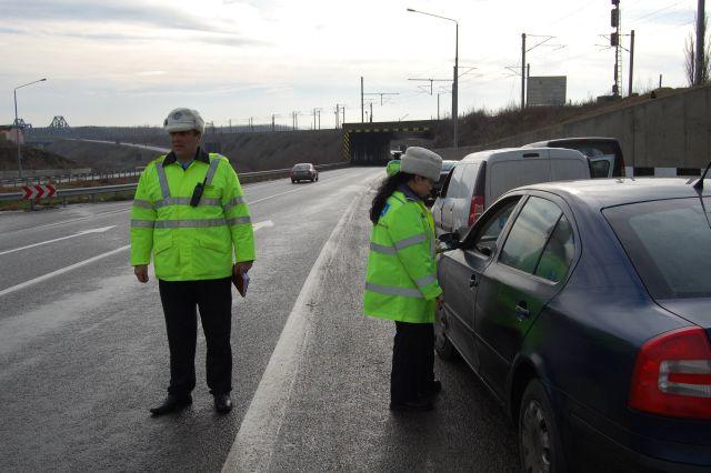 Un tanar de 27 de ani din Bucuresti a fost prins in timp ce conducea cu 236 km/h pe A3!