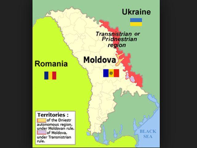 Transnistria vrea sa faca parte din FEDERATIA RUSA!