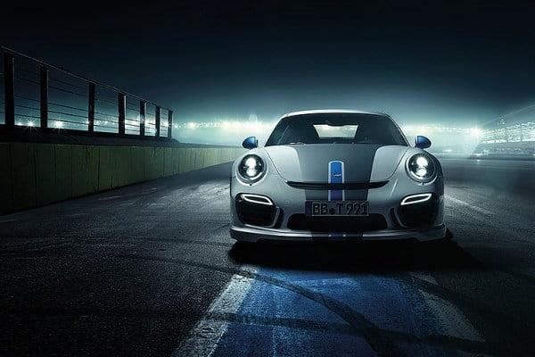 Noul Porche 911 Turbo din 2014, modificat de Techart