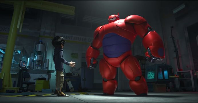 CUM VA ARATA PRIMA DISTRIBUTIE ANIMATA DISNEY MARVEL: BIG HERO 6! VIDEO