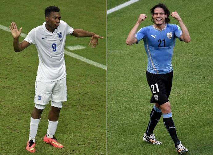 BRITANICII, TRIMISI ACASA DE SUAREZ: URUGUAY – ANGLIA 2-1!
