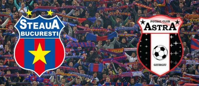 Adversari de milioane de euro pentru Steaua si Astra