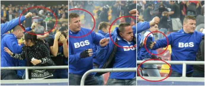 Firma de paza de la meciul Romania – Ungaria si-a reziliat contractul cu FRF! Totul in urma incidentelor de la meci!