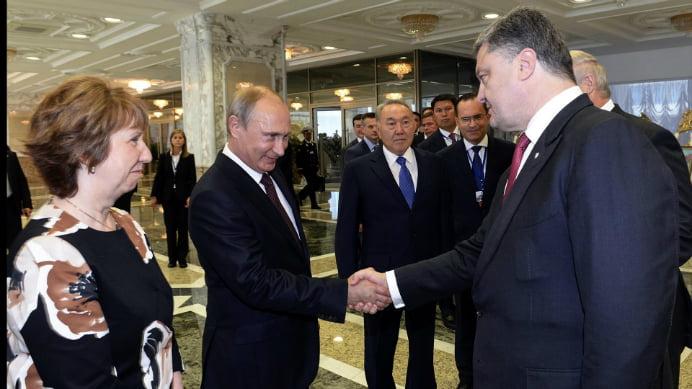 Matteo Renzi, multumit dupa intalnirea dintre Putin si Porosenko de la Milano! Problemele din Ucraina au fost subiectul principat al discutiei