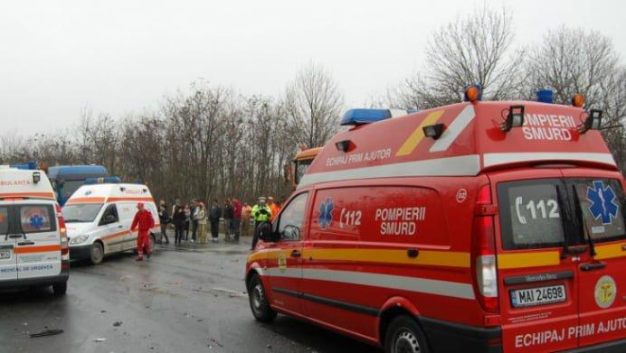 TRAGEDIE LA ARAD! Un copil de un an a murit, altul de patru ani si o femeie au scapat cu viata!