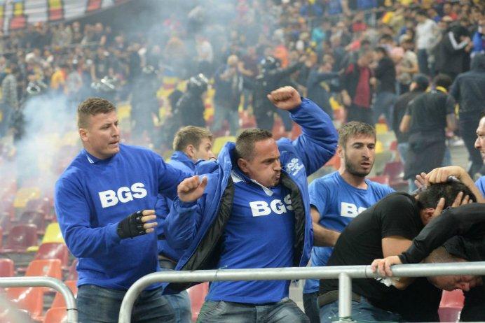 Romanii, in atentia UEFA dupa incidentele de la meciul cu Ungaria! UEFA a deschis o procedura disciplinara in acest sens