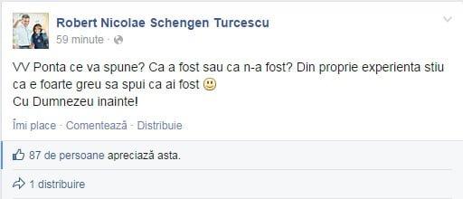 declaratie rober turcescu facebook