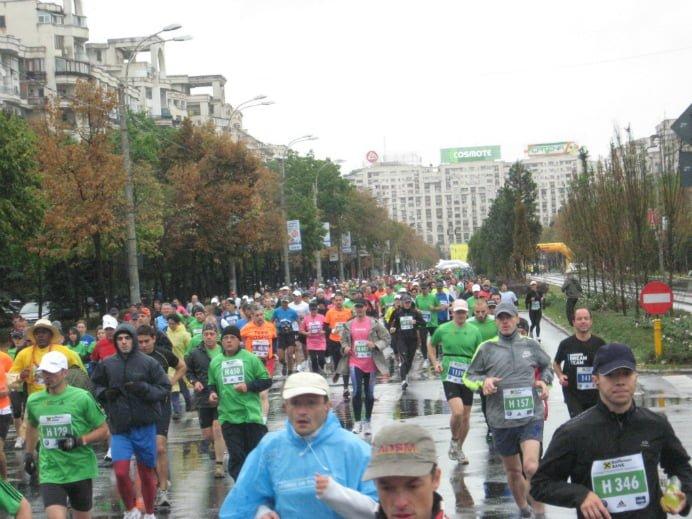 Maratonul International Bucuresti blocheaza traficul din Capitala! Vezi care sunt zonele afectate