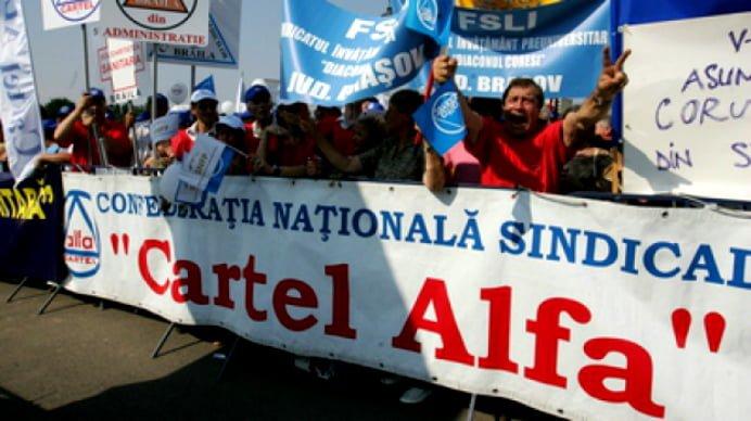 2.000 de sindicalisti protesteaza in fata Guvernului! Vezi de ce