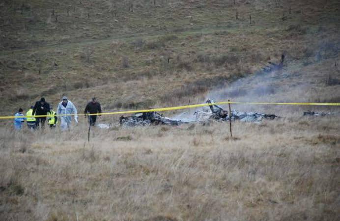 MApN a facut publica identitatea celor 10 victime ale accidentului aviatic din judetul Sibiu!