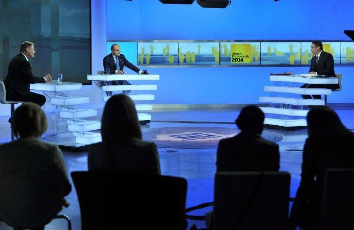 Dezbatere cu scantei intre Iohannis si Ponta! Premierul si-a atacat contracandidatul cu pensionarii!