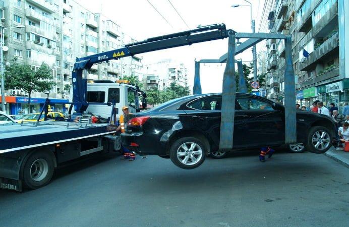 Curtea de  Apel Bucuresti: Se reia ridicarea masinilor parcate neregulamentar!