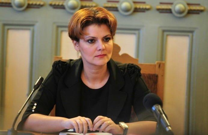 Vicepresedintele PSD Lia Olguta Vasilescu, deranjata de protestele anti Ponta! A scris un mesaj ironic pe Facebook!