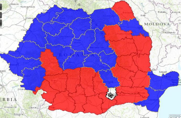 rezultate harta