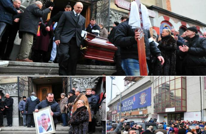 Nicolae Manea a fost inmormantat! 200 de persoane l-au condus pe ultimul drum