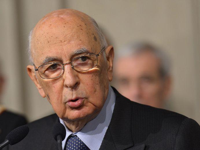 Presedintele Italiei, Giorgio Napolitano A DEMISIONAT!