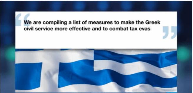 Grecia pe drumul cel bun