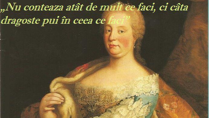 """""""Nu contează atât de mult ce faci, ci câtă dragoste pui în ceea ce faci"""" – Maria Tereza"""