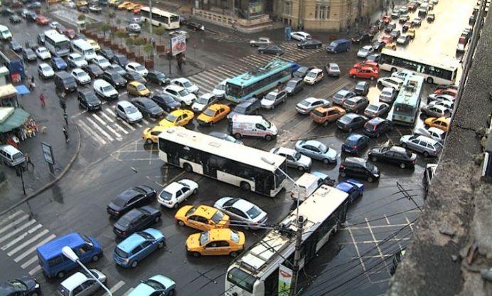 STUDIU: Bucurestiul este orașul cu cel mai greu trafic din EUROPA!
