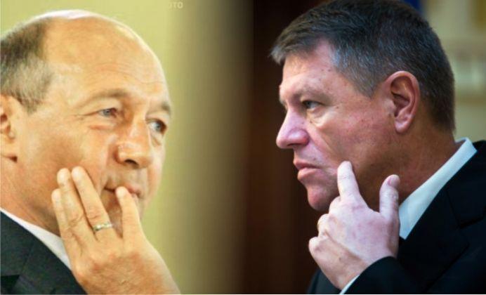 Intalnire de GRADUL TREI! Iohannis si Basescu FATA IN FATA!