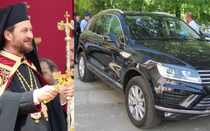 Episcopul de Husi HUIDUIT de credinciosi dupa ce si-a luat bolid de lux!