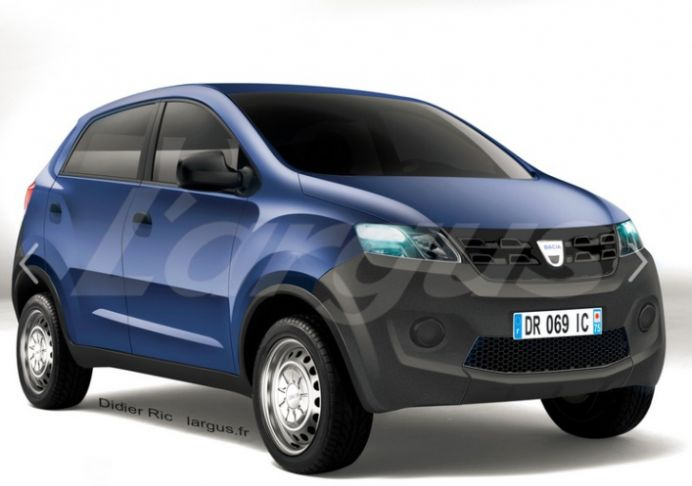 Asa arata noul model Dacia Kayou! Costa doar 5000 de euro!