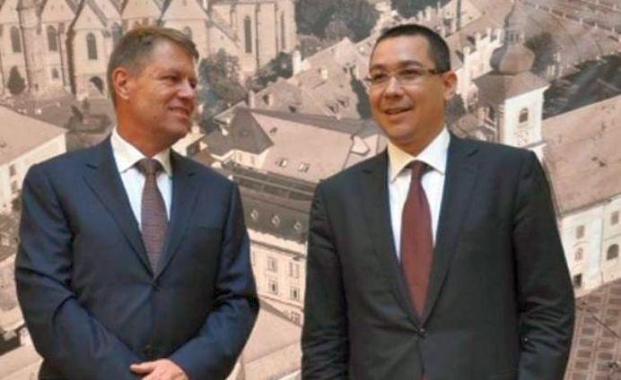 PREMIERĂ! Presedintele Iohannis a facut o gluma! E pe bune! Si e despre Ponta!