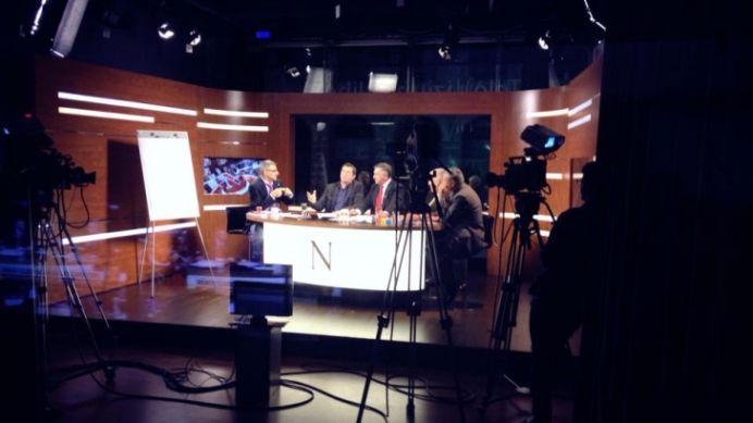 Bataie intre doi jurnalisti de la Hotnews si Nasul TV! Robert Turcescu implicat!