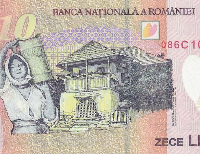 Casa de pe bancnota de 10 lei este reala si oricine o poate vizita!