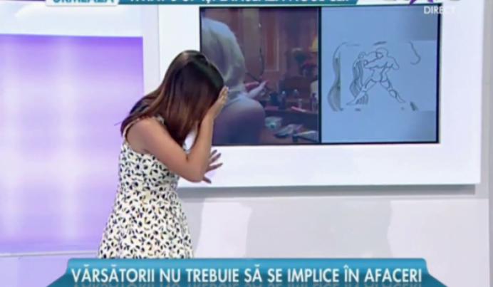 VIDEO – O prezentatoare de la Antene a lesinat in direct!