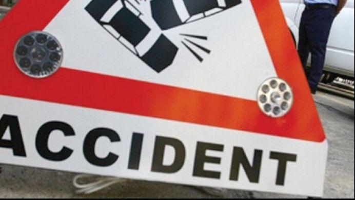 VIDEO SOCANT – Microbuz al MAI implicat intr-un GRAV accident de circulatie! 9 oameni au ajuns de URGENTA la spital!