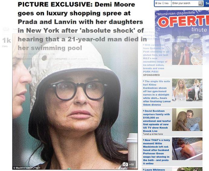 Nici mama ei n-o mai recunoaste! Actrita Demi Moore este MUTILATA de operatii estetice!