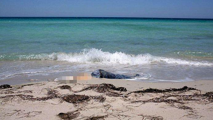 Credeau c-au ajuns intr-un paradis, la Marea Mediterana! Valurile au inceput sa aduca pe plaja NUMAI CADAVRE!