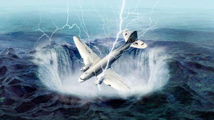 """Vartejul mortii"" sau ""Triunghiul bermudelor"" din Romania! In Evul Mediu aici dispareau corabii, acum dispar avioane!"