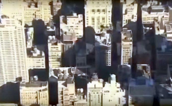 VIDEO – Un bloc de opt etaje s-a PRABUSIT in centrul New York-ului! Oamenii se aflau IN CLADIRE!