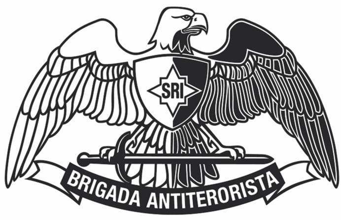 Ce simboluri ascunse contine STEMA brigazii ANTI-TERO din Romania!