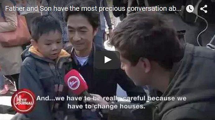 VIDEO SUPERB – Reactia FABULOASA a unui copil in fata ATENTATELOR teroriste din Paris!