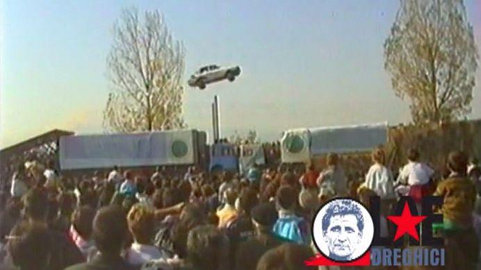 Povestea romanului care I-A UIMIT pe americani! A realizat o CASCADORIE SENZATIONALA cu Dacia 1300!