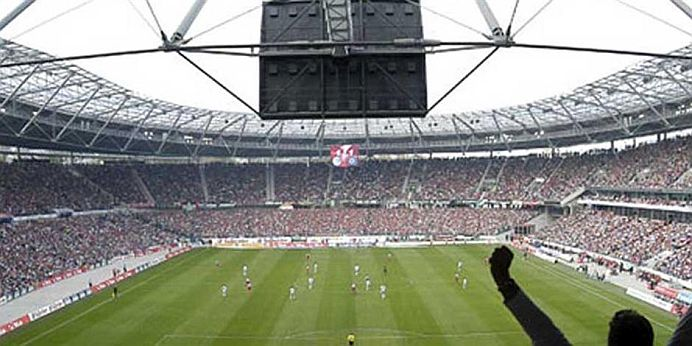 ALARMA cu BOMBA in Germania! Un stadion intreg a fost EVACUAT, Merkel trebuia sa fie acolo!