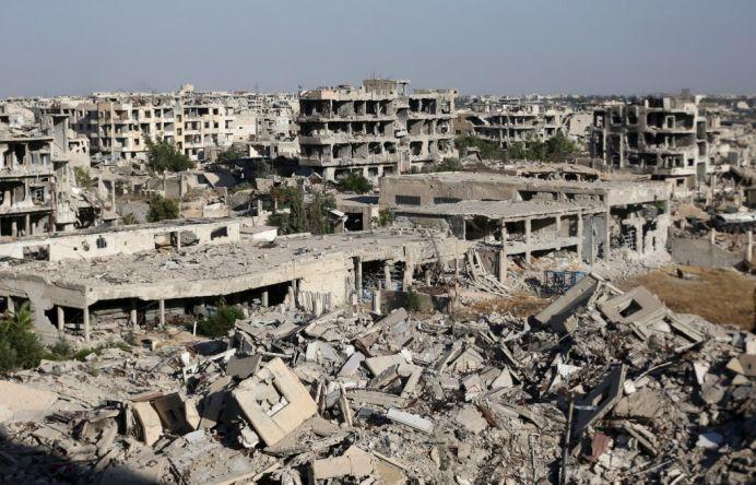 VIDEO – Asa arata APOCALIPSA! In ce hal a ajuns Damascul, dupa 4 ani de razboi!