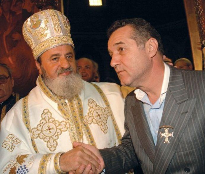 Pentru BANI, sunt in stare de ORICE! Mitropolitul Ardealului l-a ajutat pe Gigi Becali sa iasa mai repede din PUSCARIE!