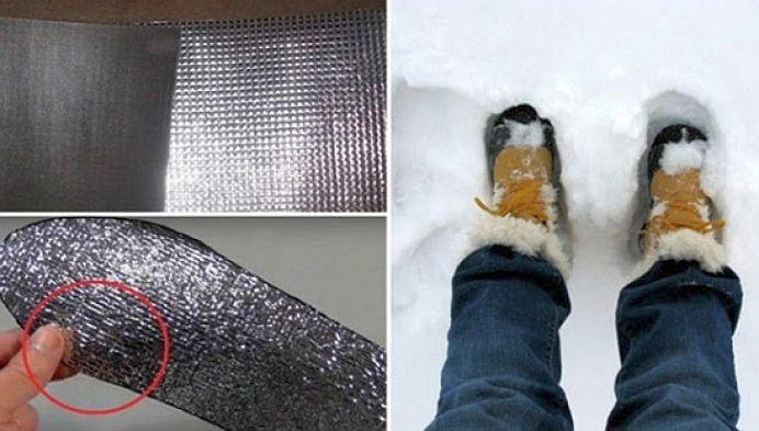 Cea mai SIMPLA si EFICIENTA metoda pentru a avea picioarele calde pe ger!