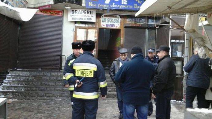 VIDEO – Explozie urmata de un incendiu puternic, intr-un bar din Chisinau! Cel putin 20 de raniti!