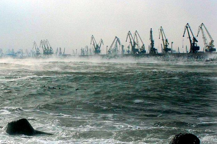 VISCOLUL a inchis complet porturile Romaniei la Marea Neagra!