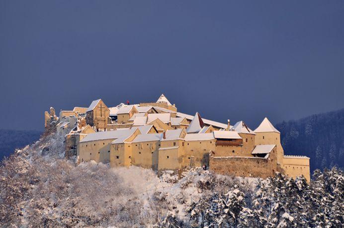 O cetate din Romania inclusa in TOPUL MONDIAL al celor mai frumoase CASTELE DE ZAPADA!