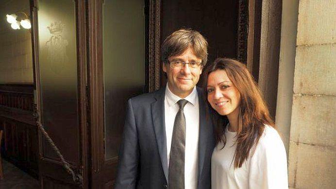 O romanca este noua Prima Doamna a Cataluniei!