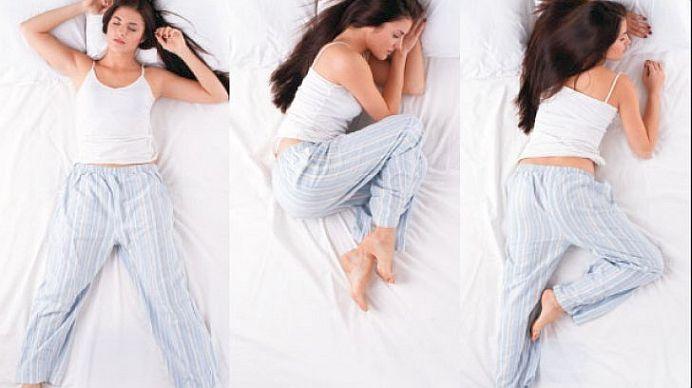 Acesta este cea mai SANATOASA pozitie pentru somn! Vezi de ce!