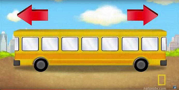 Spre stanga sau dreapta, in ce directie circula autobuzul? 80 la suta dintre oameni NU STIU raspunsul!