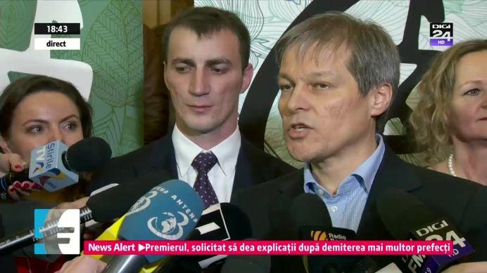 VIDEO – Dacian Ciolos despre politistul Marian Godina: Un SIMBOL pentru Politie!